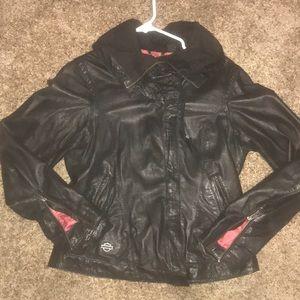 Harley women's leather jacket